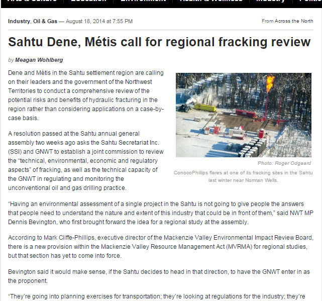 fracking review