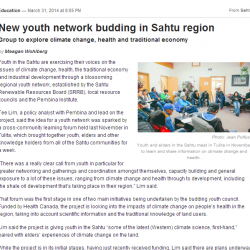 New Youth Network Budding in the Sahtu Region