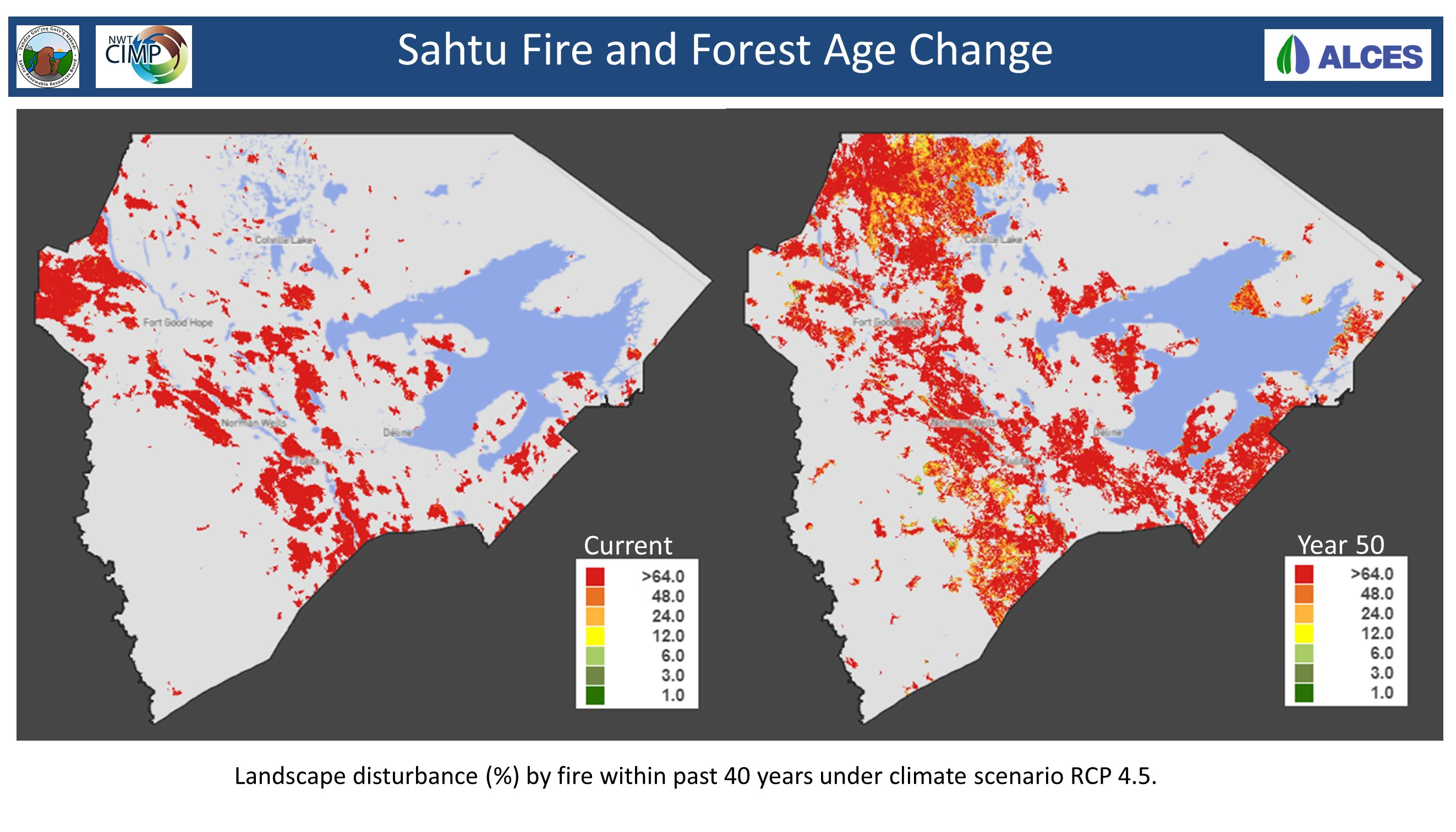 Sahtu Fire and Forest Change