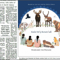 Children's book Remember the Promise, tells tales of nature in North Slavey